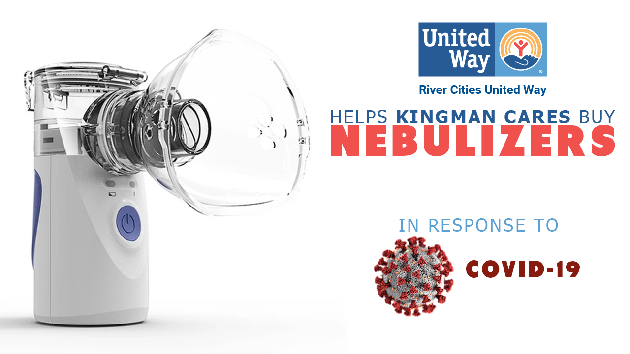 RCUW & Kingman Cares Team Up To Purchase Nebulizers