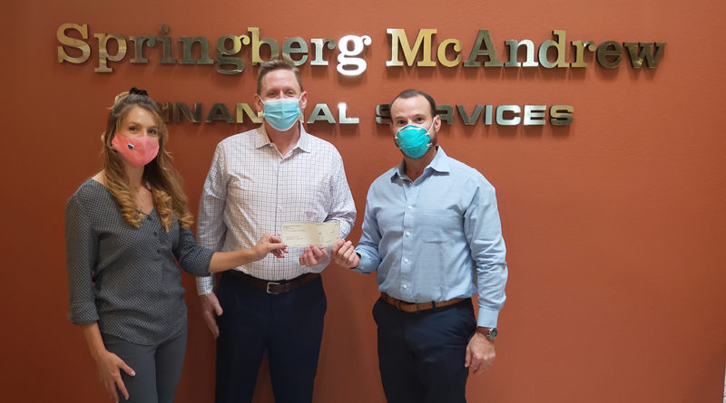 Springberg-McAndrew Financial Services Donates $5,000 to COVID Relief Fund