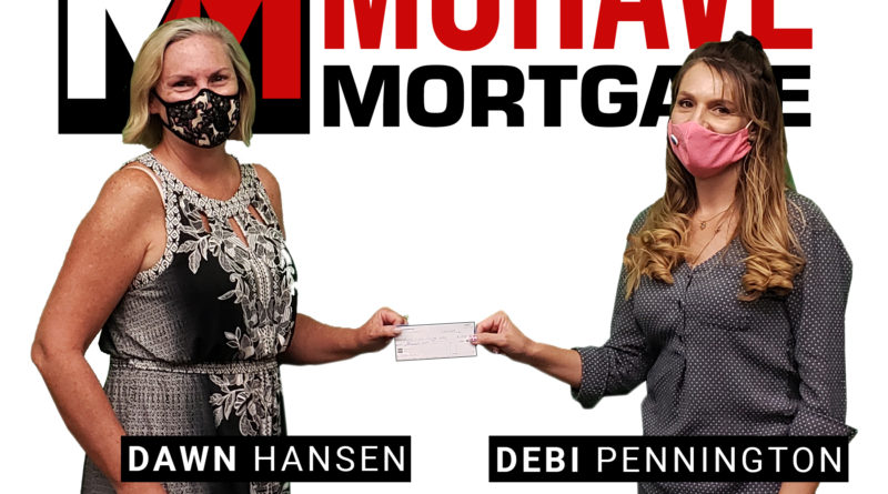 Mohave Mortgage Donates $1,000 On-Air to the LHC Resource Alliance COVID-19 Relief Fund